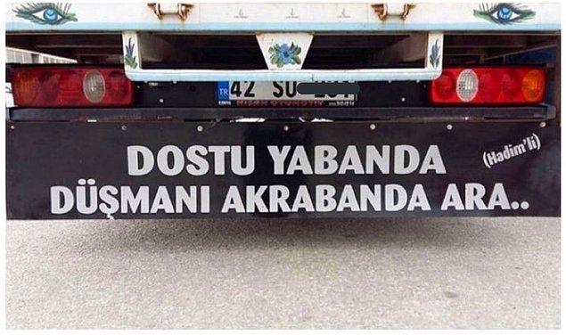 14. Bazı Konyalılar akraba sevmez...