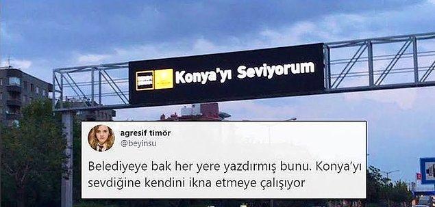 25. Tüm gaz Konya'yı sevdirme politikası uygulanıyor.