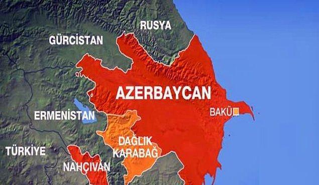 Ermenistan, Sovyet Rusya'nın Azerbaycan'a bağlı özerk bölge statüsü verdiği Dağlık Karabağ'ı 1992'de işgal etti. 2 yıl süren çatışmalarda 30 bin kişi hayatını kaybetti.