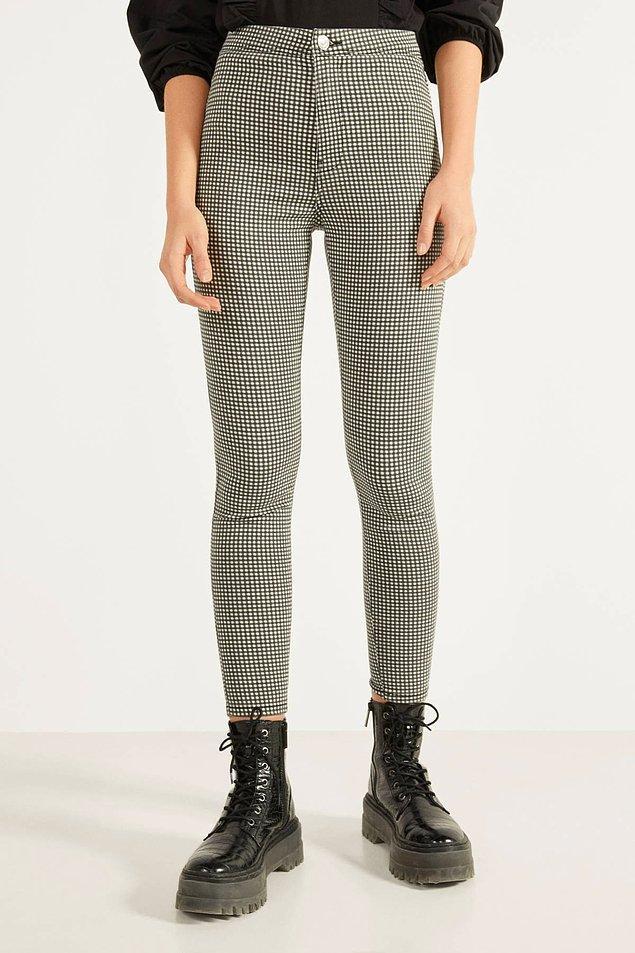 18. Desenli pantolonlar vazgeçilmezinizse bu model bitmeden bir inceleyin derim.