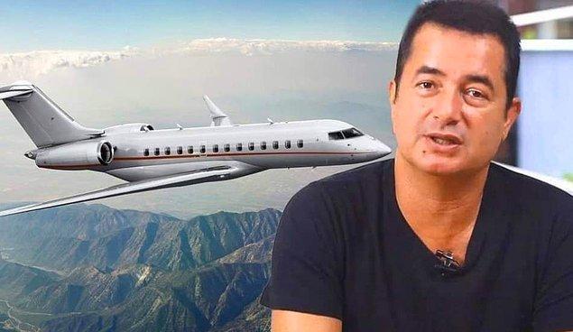 Geçtiğimiz günlerde Acun Ilıcalı'nın yeni uçak aldığına dair haberler çıkmıştı; belki duymuşsunuzdur.