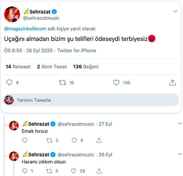 İşte Şehrazat'ın attığı o tweetler...👇
