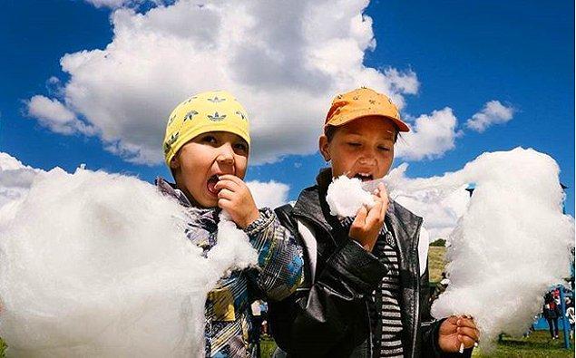 1. Bulut yiyen çocuklar...