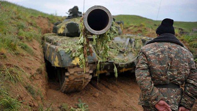 Ermeni ordusunun kaybettiği ekipmanda paylaşıldı