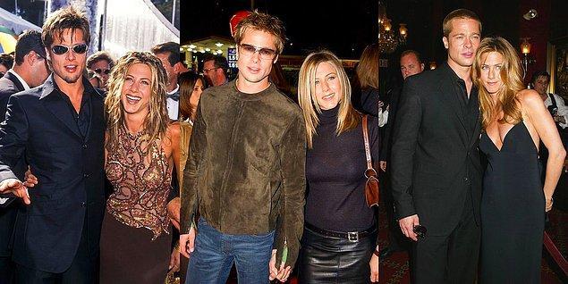 3. Brad Pitt - Jennifer Aniston