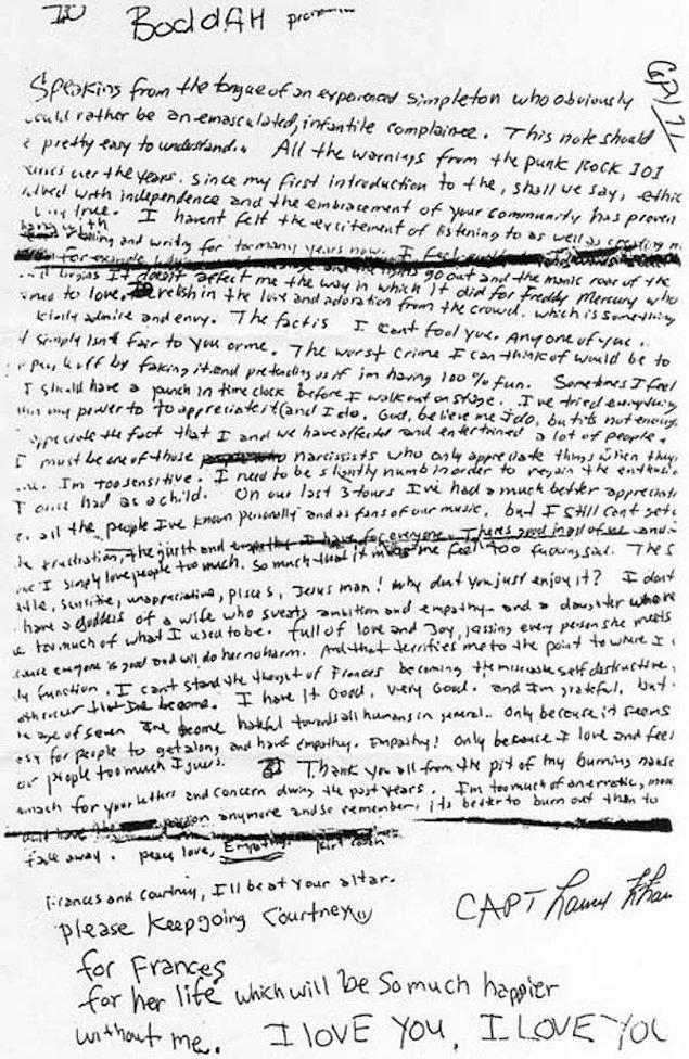 10. Kurt Cobain