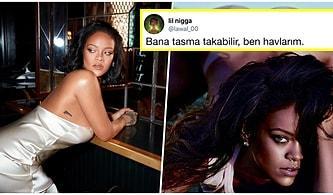 Açılın Bi' Fena Olduk! Rihanna'nın Bikini İzi ile Verdiği Çamaşırsız Poz Dünya Genelinde Hava Sıcaklığı Artışına Neden Oldu