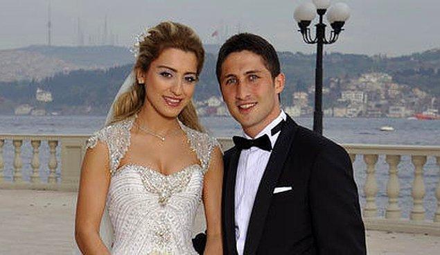 Yıldız futbolcu Sabri Sarıoğlu ve güzeller güzeli Yağmur Yılmaz 2010 yılında dünyaevine giriyor.