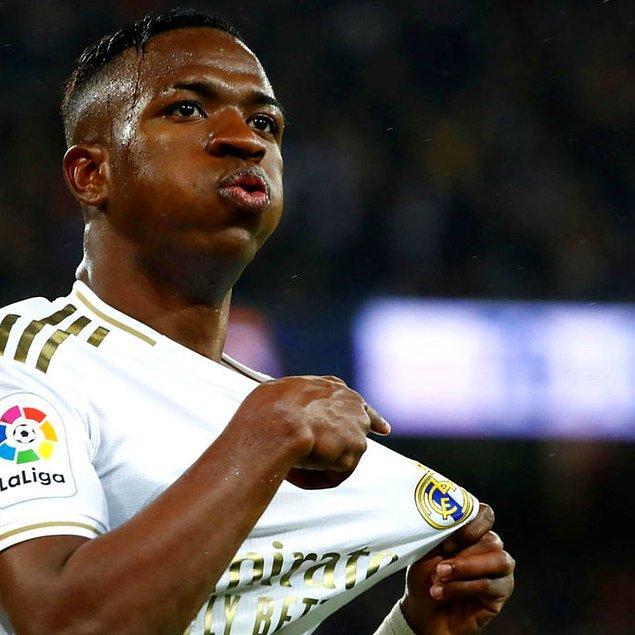 9. Vinícius Júnior / Real Madrid / 45 milyon €