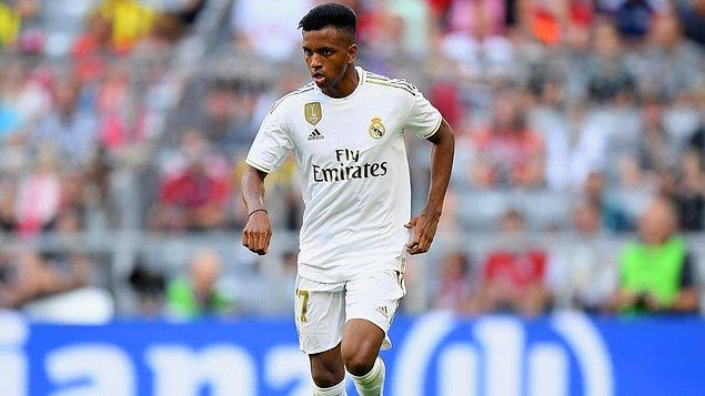 7. Rodrygo / Real Madrid / 45 milyon €