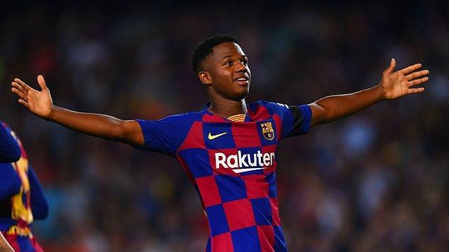 5. Ansu Fati / Barcelona / 50 milyon €