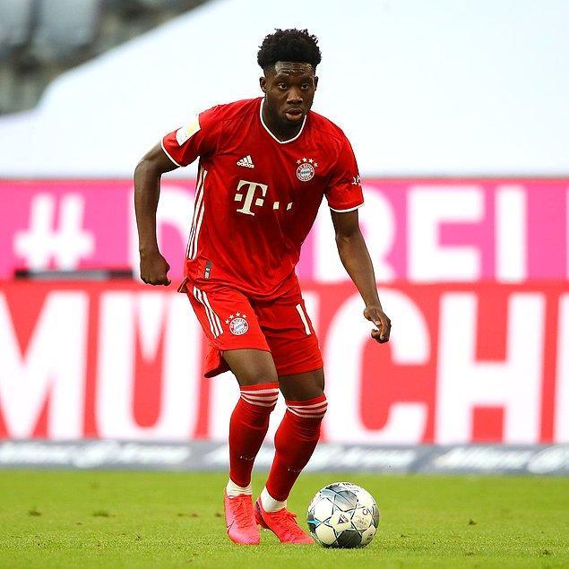 3. Alphonso Davies / Bayern Münih / 80 milyon €