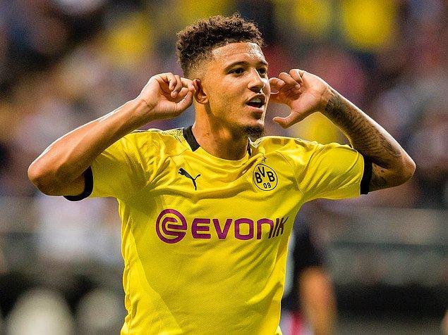 1. Jadon Sancho / Borussia Dortmund / 117 milyon €