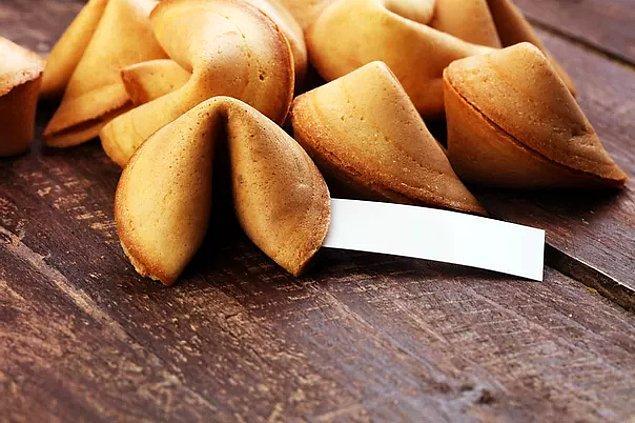 3. Şans kurabiyeleri her ne kadar Çin ile bağdaştırılsa da aslında Çin'de çok nadir bulunurlar.