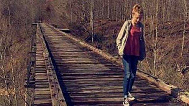 9. Delphi'de öldürülen kızın, arkadaşı ile kaybolmadan önce çekilen son fotoğrafı.