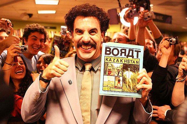 15. Borat 2, Ekim ayı içerisinde Amazon Prime'dan yayınlanacak.
