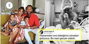 Üçüncü Kez Ebeveyn Olmaya Hazırlanan John Legend ve Chrissy Teigen Bebeklerini Kaybettiklerini Yürek Dağlayan Bir Paylaşımla Duyurdu!