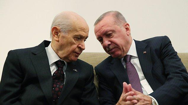 Erdoğan ve Bahçeli'nin Seçim Yasası değişikliğinin TBMM'ye sunulmasına ilişkin takvimi netleştirmesi bekleniyor.