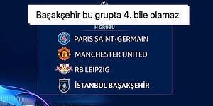 Doktor Bu Ne? Medipol Başakşehir'in Şampiyonlar Ligi'ndeki Rakipleri Belli Oldu