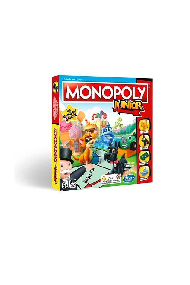 13. Emlak prensi ve prensesleri için de Monopoly Junior'umuz var elbette...