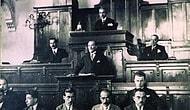 Mustafa Kemal Atatürk'ün 1937 Yılında TBMM Açılış Törenine Katıldığı ve Konuşma Yaptığı Görüntüler