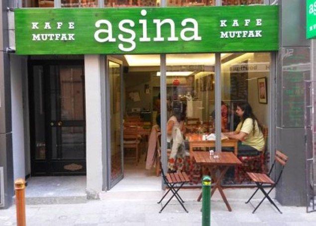 7. Aşina Kafe Mutfak