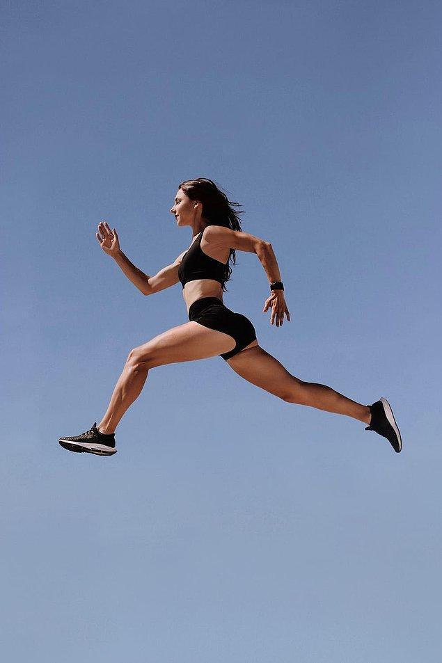 Sen zaten spor ile yaşıyorsun! Gücünü kaybetmemek için ileri antrenmanlara devam edelim.