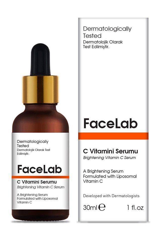 12. İpeksi bir his bırakan C vitamini içerikli bu özel serum, cildin daha ışıltılı ve canlı görünmesini sağlar.