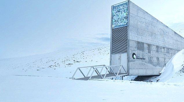 8. Svalbard Küresel Tohum Deposu - Norveç
