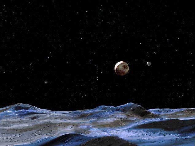 Güneş sisteminin en soğuk yüzeyine sahiptir.