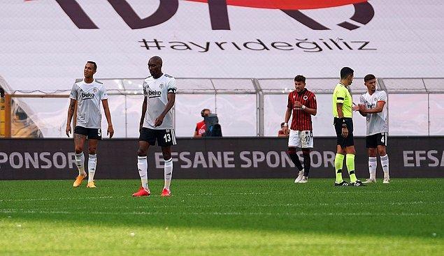 Bu sonucun ardından Beşiktaş 4 puanda kalırken, Gençlerbirliği ise puanını 4'e yükseltti.