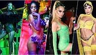 Rihanna'nın Kendi Kadar İddialı İç Çamaşırı Markası 'Savage X Fenty'nin Defilesine Katılarak 'Vay Anasını!' Dedirten Ünlü İsimler