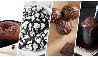 Görünce Bile Mutluluk Seviyemizin Arttığı Asla Dayanamadığımız Bitter Çikolatalı 12 Tatlı Tarifi