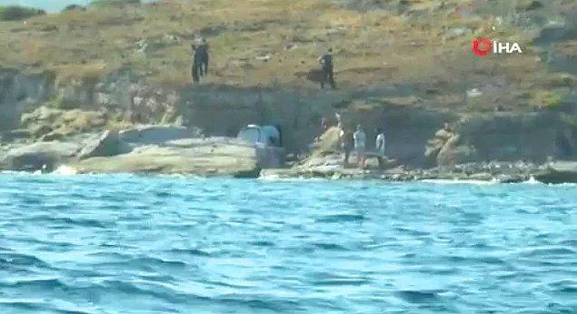 12. Bir grup erkeğin Bodrum'da çırılçıplak denize girip cinsel ilişkiye girmesi...