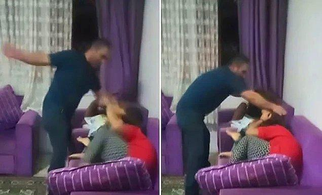14. Bir babanın çocuklarına şiddet uygularken sosyal medyadan canlı yayın yapması...