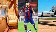 Yaptığı Alışveriş ile Zenginliği Başka Bir Seviyeye Taşıyan Lionel Messi'nin 12 Milyon Sterlin Değerindeki Yeni Jeti