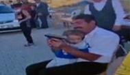 'Şimdiden Alışıyor Koçum' Demişti: Aksaray'da Torununa Silahla Ateş Ettiren Dede Gözaltına Alındı