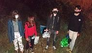 Uşak'ta Haber Alınamayan 4 Çocuk Ormanlık Alanda Bulundu