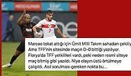 Galatasaray ile Ümit Milli Takım Arasında Oynanan Hazırlık Maçının Marcao'nun Halil Dervişoğlu'na Attığı Tokat Nedeniyle Yarıda Kaldığı İddia Edildi
