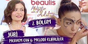 """""""KIZLARIN HEPSİ ŞOV YAPMIŞ!"""" Beaulis Makyajın Anlatsın 2. Bölüm W Meryem Can & Melodi Elbirliler"""