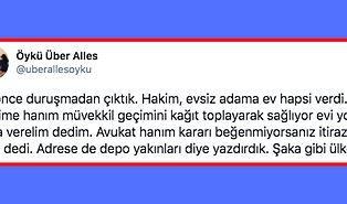 """Evsiz Müvekkiline """"Ev Hapsi"""" Cezası Verilen Avukatın Anlamakta Güçlük Çekeceğiniz Yaşadığı Trajikomik Durum"""
