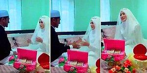 Evlendiği Erkek ile Gerdeğe Girme Hazırlığında Olan Ancak Eline Dokunmaktan Çekinen Gelin