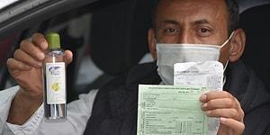 Promil Testinde Ehliyetine El Konulan Sürücü 'Kolonya Başıma Bela Oldu' Dedi