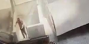 Katlı Otoparkın Çöktüğü Sırada Merdivenden İnen Adamın Şans Eseri Hayatta Kaldığı Korkunç Anlar