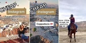 Biz Bu Hayata Başkalarını İzlemeye Gelmişiz: Haftalık 240 Dolara Kapadokya Tatili Tanıtımı Yapan TikTok Reklamı