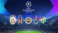 Şampiyonlar Ligi Tarihinde Türk Takımlarının İlk Sezonlarında Topladıkları Puanlar