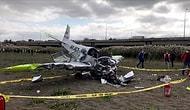 İstanbul Büyükçekmece'de Eğitim Uçağı Düştü! Pilot Enkazdan Yaralı Olarak Çıkarıldı