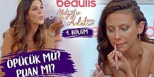 """""""ÖPÜCÜK MÜ PUAN MI?"""" Beaulis Makyajın Anlatsın 4. Bölüm W Meryem Can Melodi Elbirliler"""