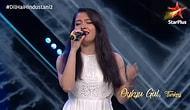 Hindistan'da Katıldığı Ses Yarışmasında Hintçe Şarkı Söyleyen Türk Kadın Jüriyi ve İzleyenleri Kendine Hayran Bıraktı