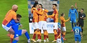 Galatasaray, Erzurum'da Falcao ile Güldü! Hakem Kararlarının Tartışıldığı Maçta Yaşananlar ve Tepkiler